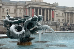 Trafalgar Big Freeze Royalty Free Stock Photography