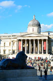 trafalgar carré de Londres Image libre de droits