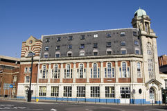 Trafalgar hus, Portsmouth royaltyfri bild