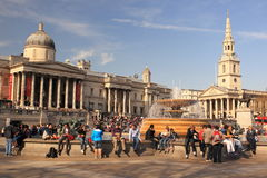 Trafalgar kwadrat Zdjęcia Royalty Free