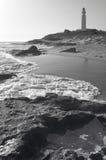 Trafalgar lighthouse and beach in Andalucia. Cadiz. Spain Royalty Free Stock Photos