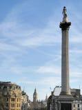 trafalgar london квадратное Великобритания Стоковая Фотография RF