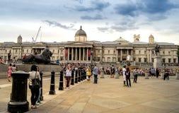 trafalgar london квадратное Стоковое Изображение