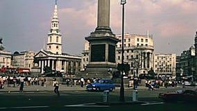 Trafalgar Londres cuadrado metrajes
