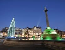 Trafalgar-Platz Stockbild