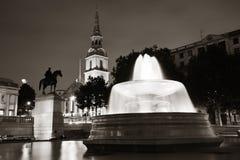 Trafalgar-Platz Lizenzfreie Stockfotografie