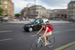 Trafalgar-Platz-Stadt von London lizenzfreie stockfotos