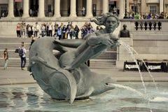 Trafalgar Quadrat, London Lizenzfreie Stockfotografie