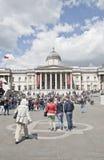 Trafalgar sguare στοκ εικόνες