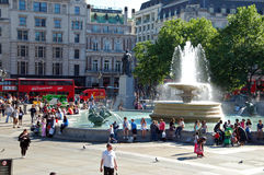 Trafalgar square Royalty Free Stock Photos