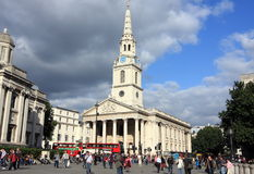Trafalgar Square Royalty Free Stock Photo