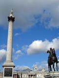 Trafalgar square royalty free stock photo