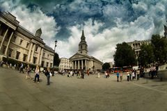 Trafalgar Square, London Stock Photo