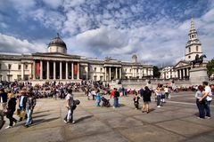 Trafalgar Square, London Stock Photography