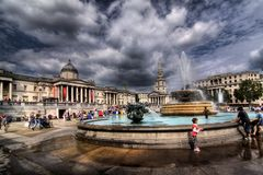 Trafalgar Square, London Royalty Free Stock Images
