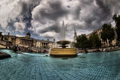 Trafalgar Square, London Royalty Free Stock Photos