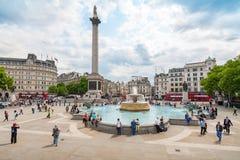 Trafalgar Square. London, England Royalty Free Stock Photos