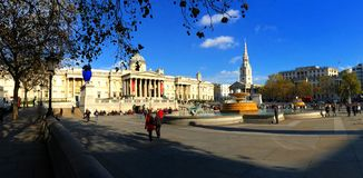 Trafalgar Square London England Royalty Free Stock Photography
