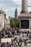 Trafalgar Square London Royalty Free Stock Photos