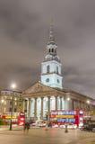 Trafalgar Square in London Royalty Free Stock Photo