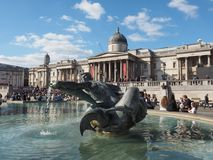 Trafalgar Square in London Stock Photo
