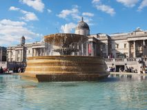 Trafalgar Square in London Stock Photography