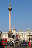 Trafalgar Square London Royalty Free Stock Image