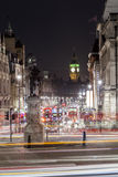 Trafalgar Square in London, United Kingdom stock photography