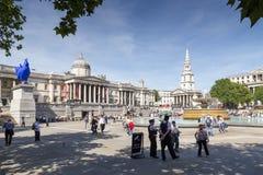 Trafalgar Square, London Royalty Free Stock Images