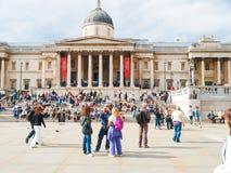 Trafalgar Square, London Stock Image