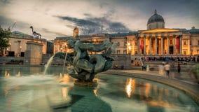 Trafalgar Square, London Stock Photography