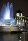 Trafalgar Square at Night 2 Stock Photography
