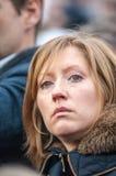 Trafalgar Square Rally Stock Photo