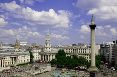 Trafalgar square Royalty Free Stock Images