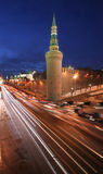 Traffic. Outside Red Square, Moscow Royalty Free Stock Photos