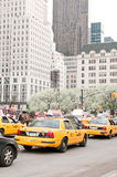 Traffic on 5th Avenue in New York City Royalty Free Stock Image