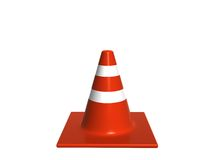 Traffic. Cone Royalty Free Stock Photography