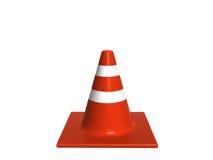 Traffic. Cone stock illustration