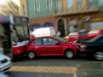 Traffic accident Stock Photography