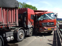 Traffic accident Royalty Free Stock Images