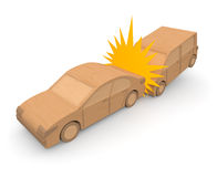 Traffic accident / car Stock Photography