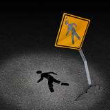 Traffic Accident Injury Royalty Free Stock Photo