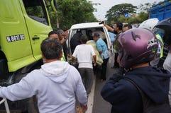 Traffic accident Stock Photos