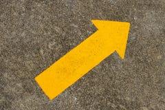Traffic arrow sign Royalty Free Stock Image