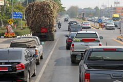 Traffic in Asia Royalty Free Stock Images