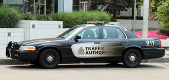 Traffic Authority Vehicle Royalty Free Stock Photo