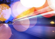 Traffic background Stock Image