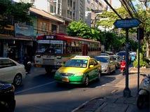 Traffic Bangkok. Royalty Free Stock Image