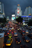 Traffic in Bangkok Royalty Free Stock Photos