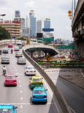 Traffic in Bangkok Stock Photos